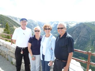 Carl, Pam, Deb & Bob - Beartooth Hwy