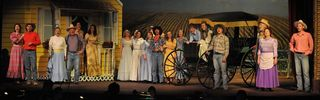 Cast of Oklahoma Ellen Theater
