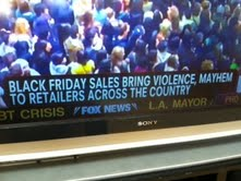 Black Friday zombies