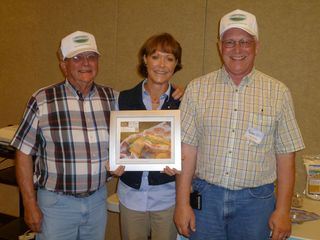 Dean, Larry and Deb at Billings Clinic 7-16-11