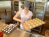 Kyra and cupcakes